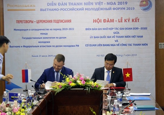 Vietnam, Russia beef up cooperation in youth affairs hinh anh 1