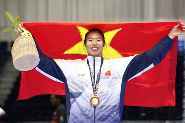 Vietnam bring home three Asian karate championship bronze medals hinh anh 1