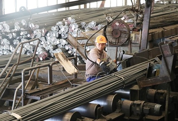 Vietnam exports 2.24 billion USD worth of steel and iron in H1 hinh anh 1