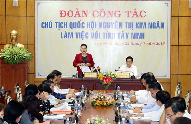 Top legislator urges Tay Ninh to utilise potential for growth hinh anh 1