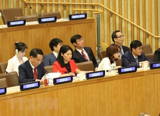 Vietnam attends Supreme Audit Institution leadership meeting in New York hinh anh 1