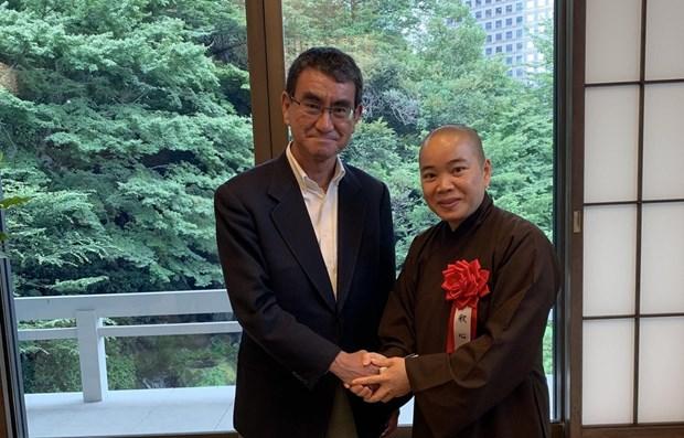 Vietnamese honoured for promoting Vietnam-Japan relations hinh anh 1