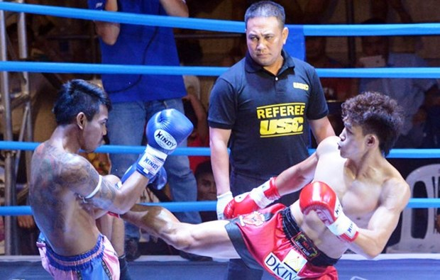 Vietnamese martial artists compete in World Muay Thai Champs hinh anh 1
