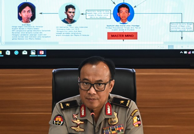 Indonesian police crush bomb-attack plot on Independence Day hinh anh 1