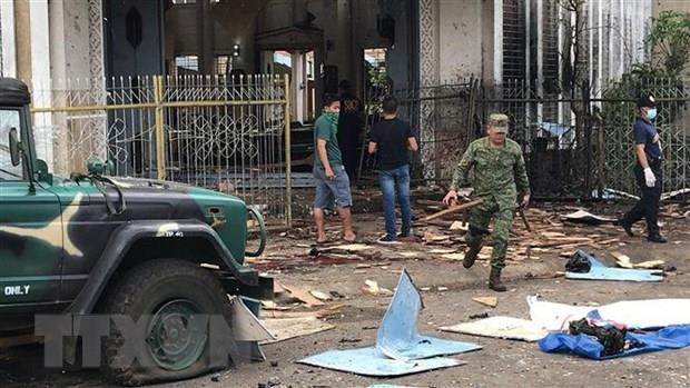 Indonesian police: couple behind church bombing in Philippines hinh anh 1