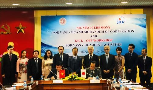 JICA, VASS step up cooperation for Vietnam's sustainable development hinh anh 1