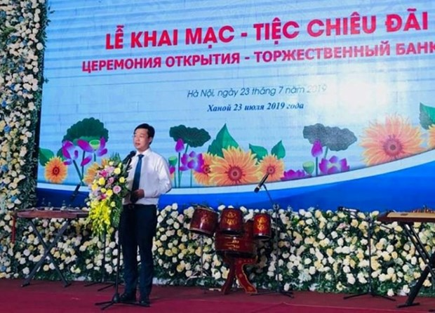 Vietnam-Russia Youth Forum opens in Hanoi hinh anh 1