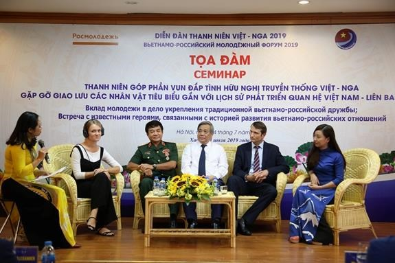 Seminar highlights youth's contribution to Vietnam-Russia ties hinh anh 1