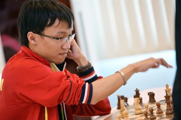 GM Son joins teammate Liem at FIDE Chess.com Grand Swiss hinh anh 1