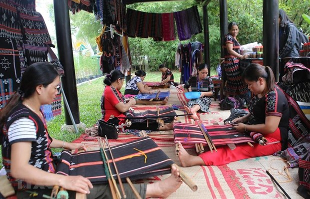 Joint venture supports traditional weaving in Thua Thien-Hue hinh anh 1
