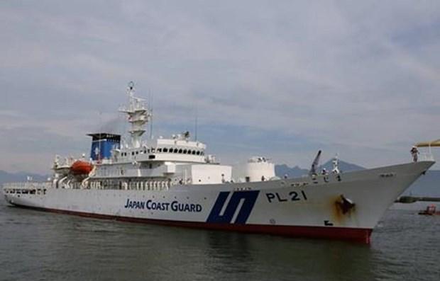 Japan coast guard ship arrives in Da Nang hinh anh 1