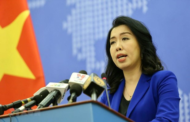Vietnam consistently protects sovereignty in East Sea: Spokeswoman hinh anh 1