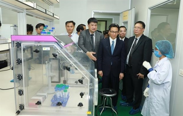 DNA identification centre for martyrs opens hinh anh 1