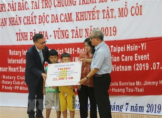 Foreign aid supports heart surgeries for AO/dioxin victims hinh anh 1