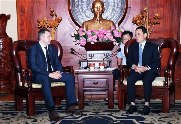 HCM City wants to boost ties with Russian localities hinh anh 1