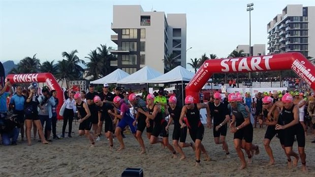 Da Nang ironman contest opens for registration hinh anh 1