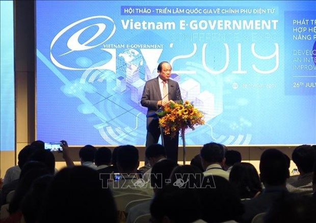 National seminar talks e-Government hinh anh 1