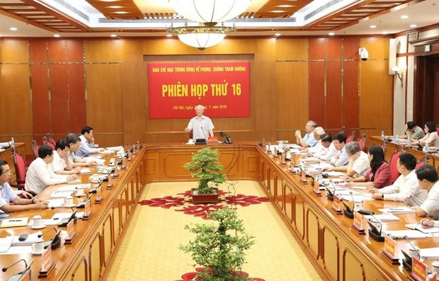 Anti-corruption requires tireless efforts: top leader hinh anh 1