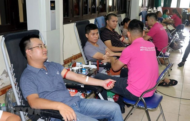 Red Journey blood donation campaign reaches Hanoi hinh anh 1