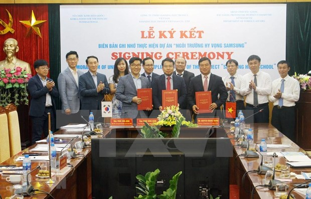 Samsung Hope School project to run in Bac Giang hinh anh 1