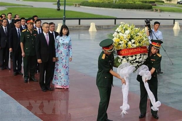 Cambodia ceremony commemorates Vietnamese martyrs hinh anh 1