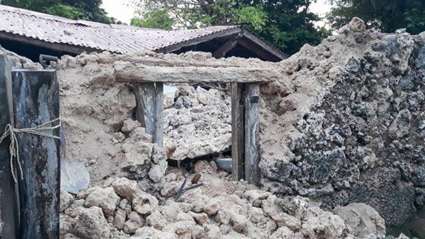 Death toll from earthquakes in Philippines rises to eight hinh anh 1