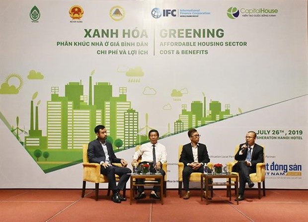 Green buildings benefit both investors and home buyers hinh anh 1