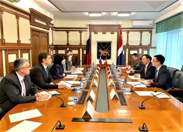 Vietnam, Russia's Primorye region step up economic cooperation hinh anh 1