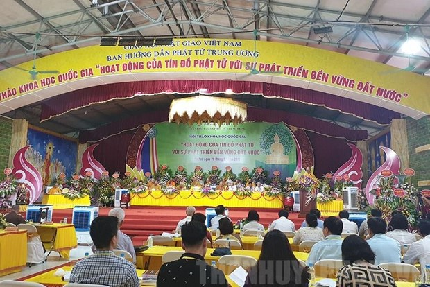Symposium talks Buddhism's contributions to sustainable development hinh anh 1