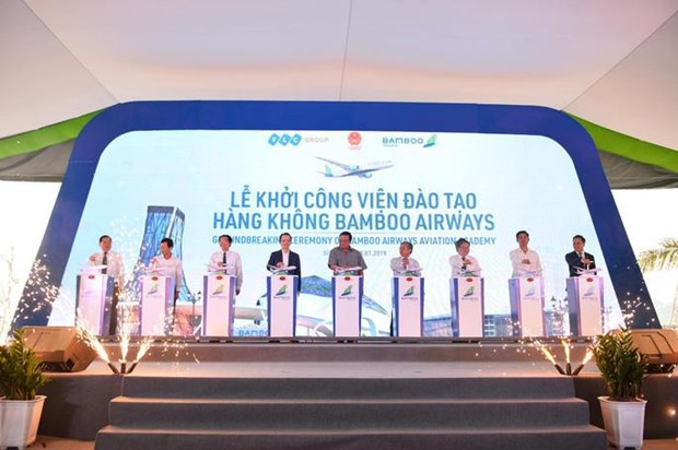 Work starts on Bamboo Airways aviation training centre hinh anh 1