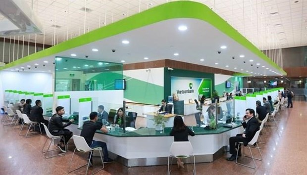 Vietcombank leads in first-half pre-tax profits hinh anh 1