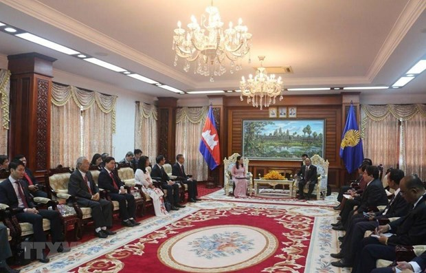 Cambodian leader lauds HCM City's development hinh anh 1