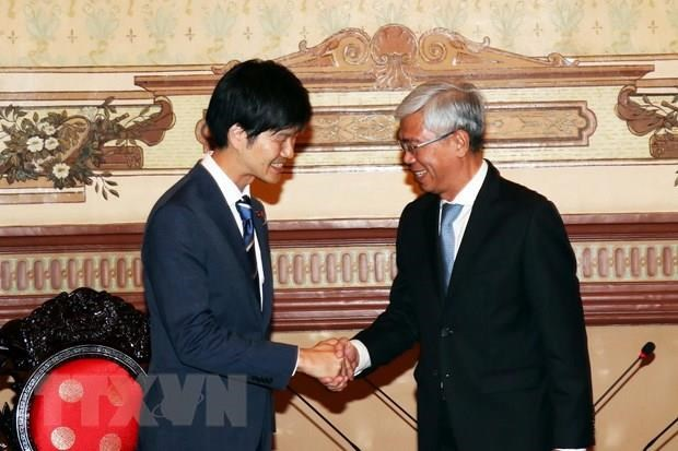 HCM City leader wishes for Japan's further support hinh anh 1