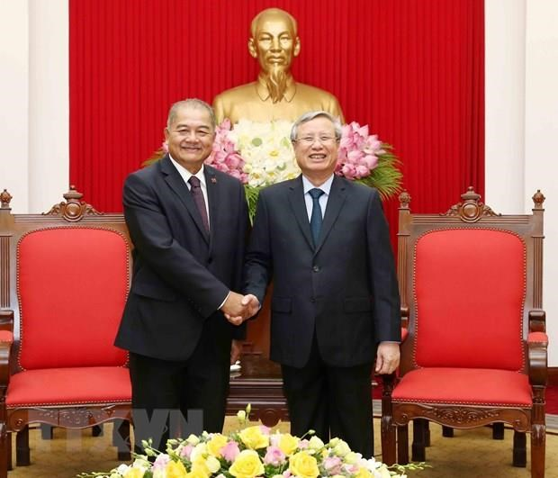 Party official: Vietnam does best to foster ties with Laos hinh anh 1