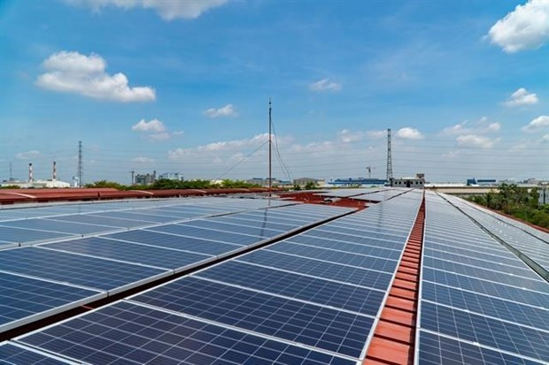 Phu Yen begins to build solar-powered lighting system hinh anh 1