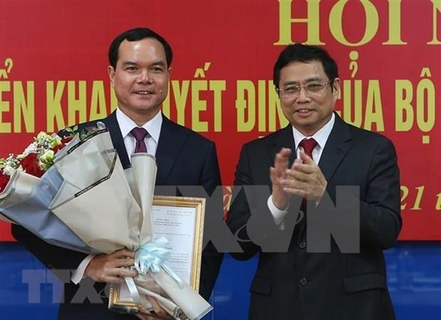 Nguyen Dinh Khang elected as new VGCL President hinh anh 1