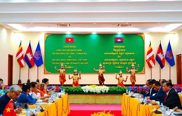Vietnam, Cambodia friendship associations issue joint statement hinh anh 1