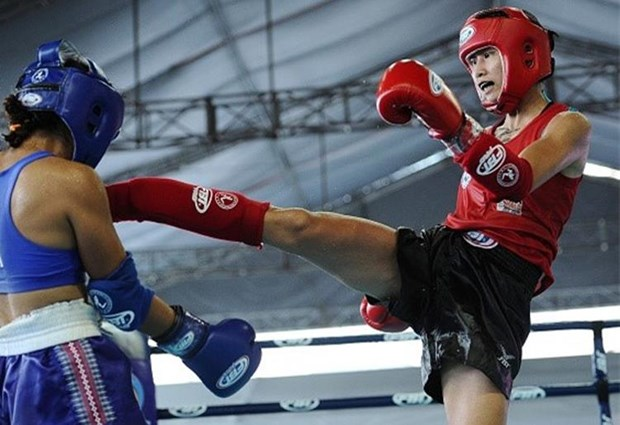 Vietnamese artists win two golds at World Muay Thai Championships hinh anh 1