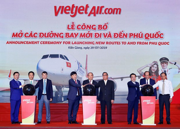 Vietjet offers tickets to Phu Quoc priced from zero VND hinh anh 1
