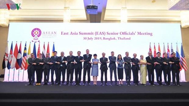 Vietnam attends ASEAN+3, EAS senior officials meetings hinh anh 1