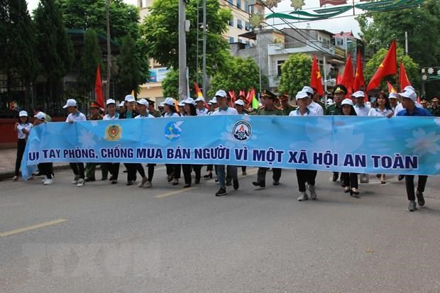 Meeting responds to National Day on Anti-Trafficking in Persons hinh anh 1