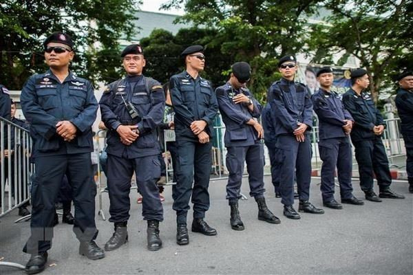 Thai police ensure security for ASEAN Foreign Ministers' Meeting hinh anh 1
