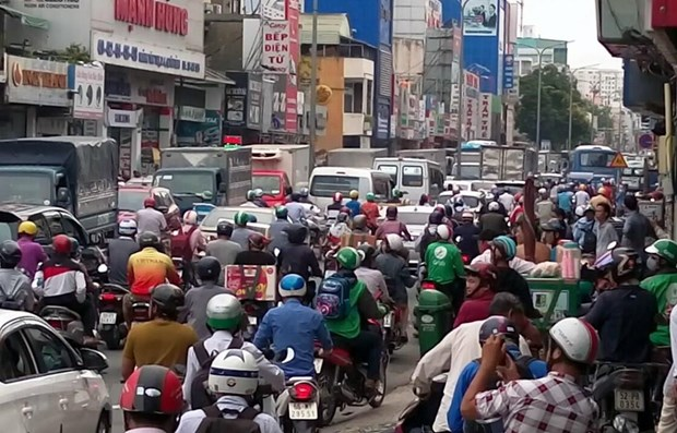 HCM City plans 34 toll booths to reduce peak-hour congestion hinh anh 1