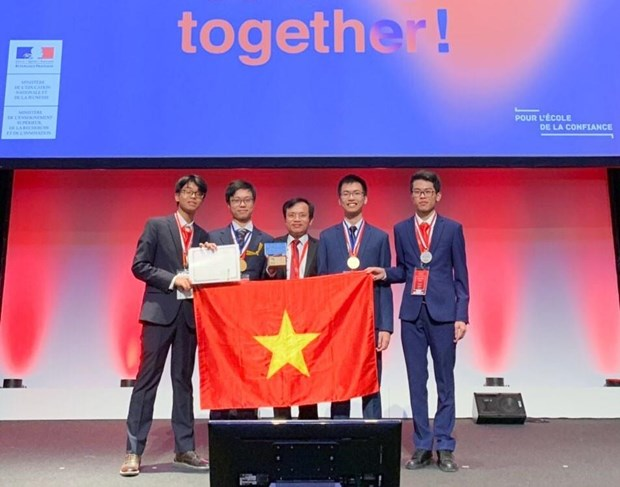Vietnam in fifth place at 51st Int'l Chemistry Olympiad hinh anh 1