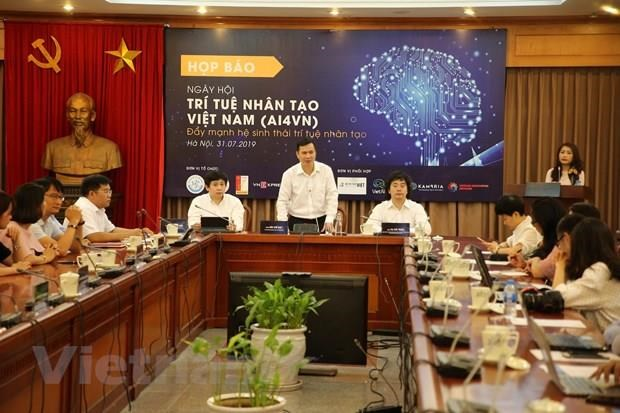 Vietnam artificial intelligence day to take place in August hinh anh 1