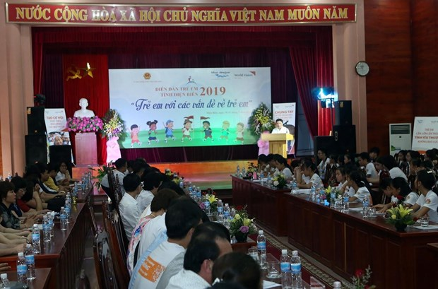 Forum gives children a voice in child-related issues hinh anh 1