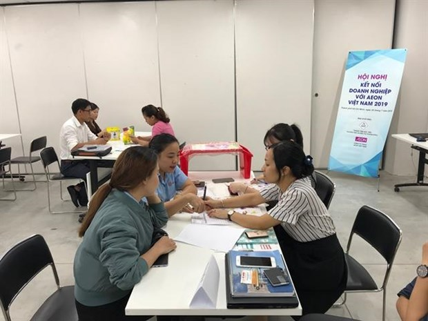 AEON Vietnam promotes local products to help them enter supply chain hinh anh 1