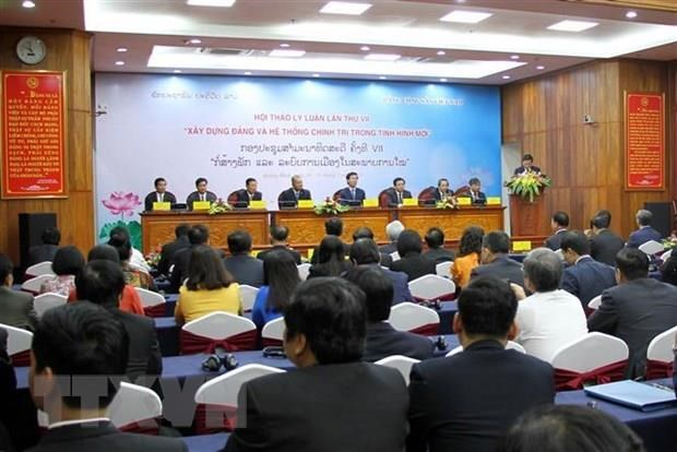 CPV-LPRP theoretical workshop closes in Quang Binh hinh anh 1