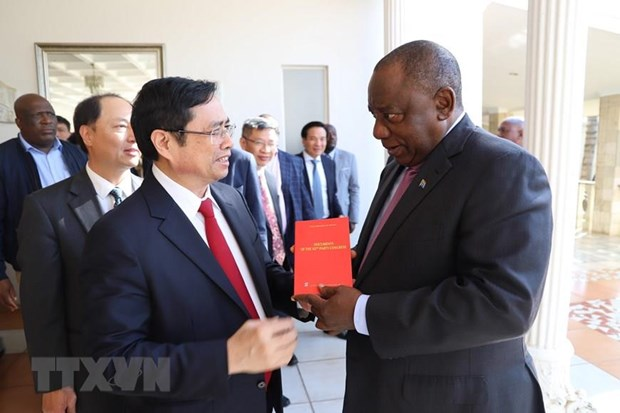 Parties of Vietnam, South African forge ties hinh anh 1