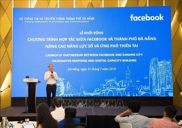 Da Nang, Facebook join hands in disaster response hinh anh 1
